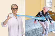 TL-5102TP - Caregiver Pager with Two Call Button for the Elderly