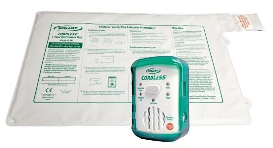 Wireless Bed Exit Alarms for Fall Prevention
