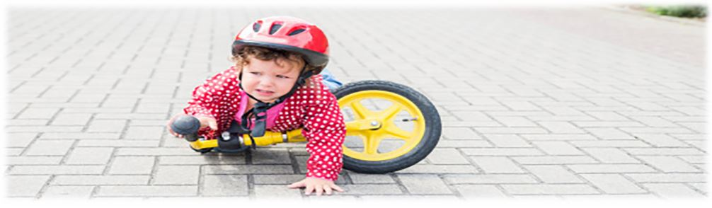 Child FallingOff Bike