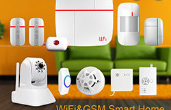 vCare Smart Home Security System WiFiGSM v2 250x
