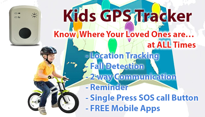 GPS Tracker Device for Kids with Special Needs