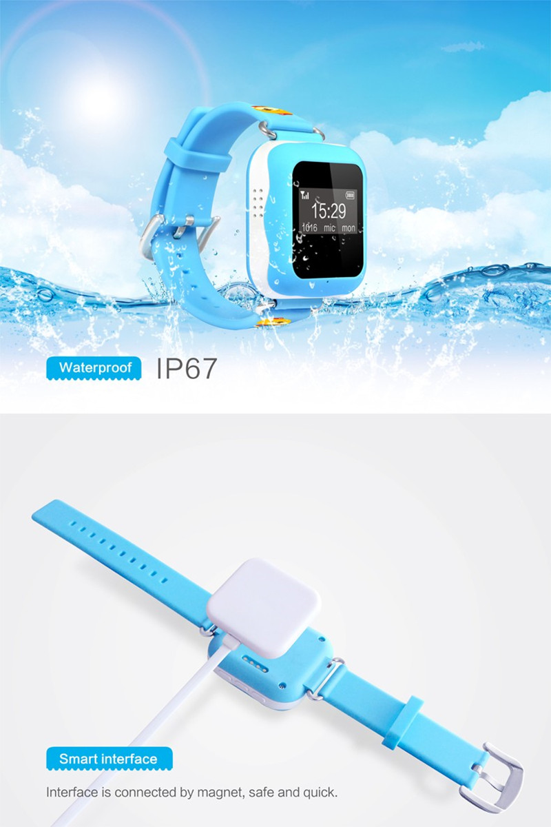 Kids GPS Watch (Waterproof - IP67)