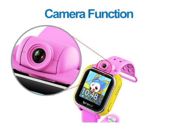 3G Kids GPS Tracker Watch - Camera