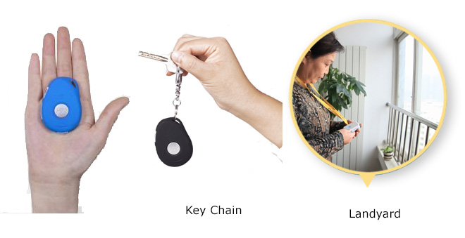 3G Key Chain GPS Tracking & Fall Detection (Elderly)