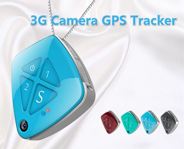 3G Pendant GPS Tracker Dementia Elderly - Kids - Caring your love ones