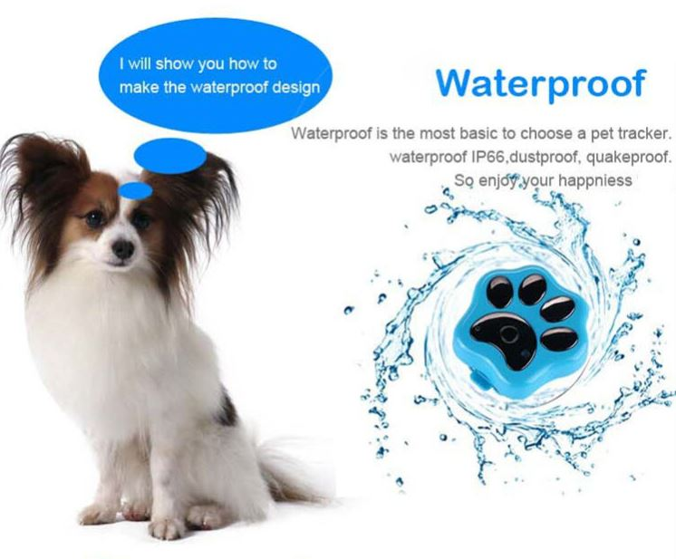 3G Pet GPS Tracker - Waterproof