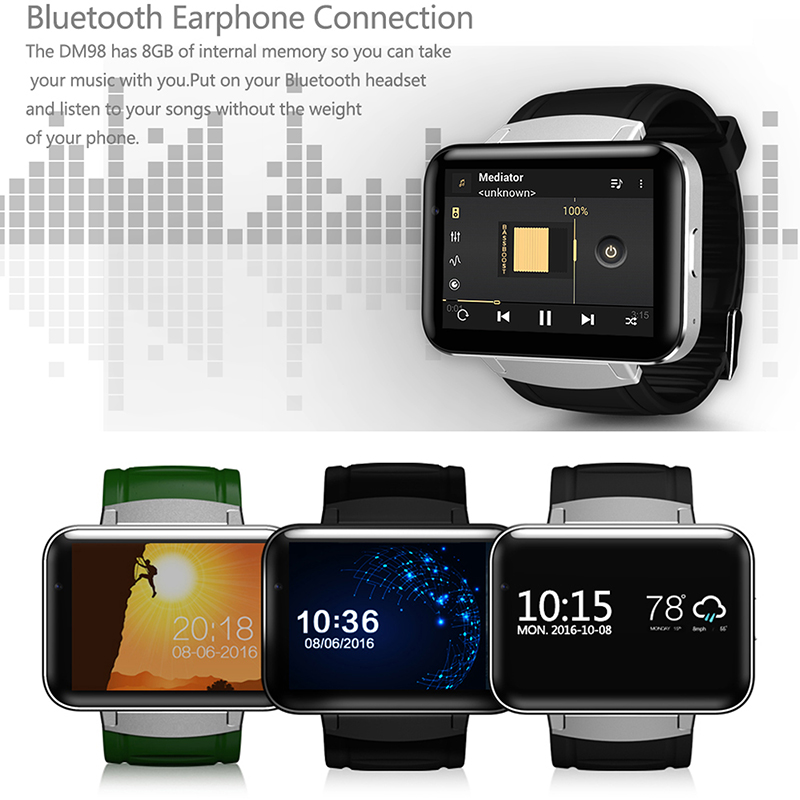 3G Video Watch for Kids - Adults - Screen Size and Battery Size - Music and Color