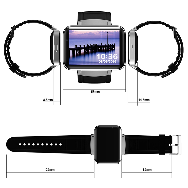 3G Video Watch for Kids - Adults - Size