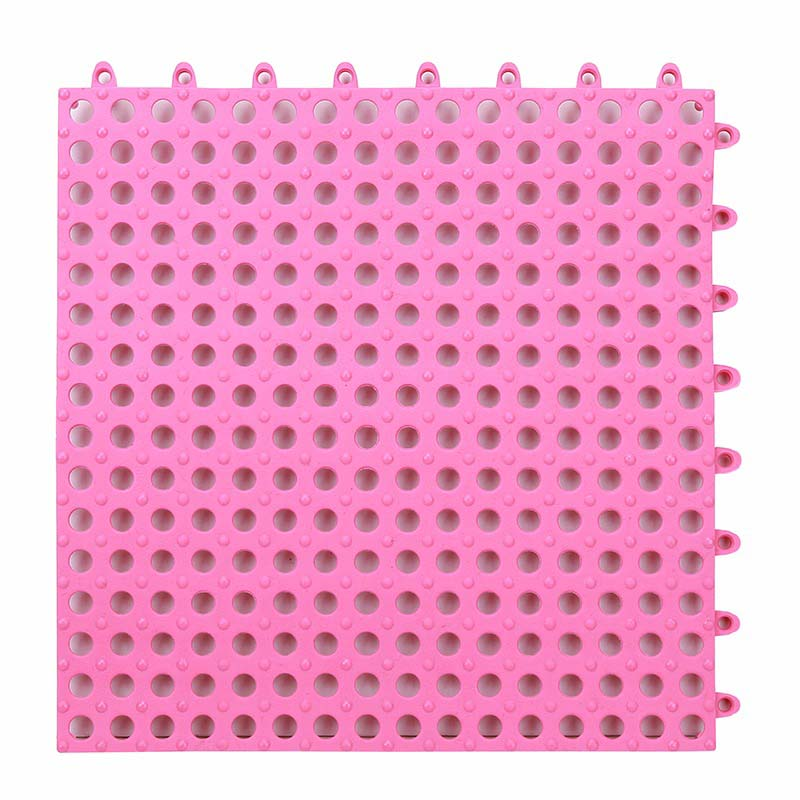 Fall Prevention - Anti Slip Floor Mat - Pink - S