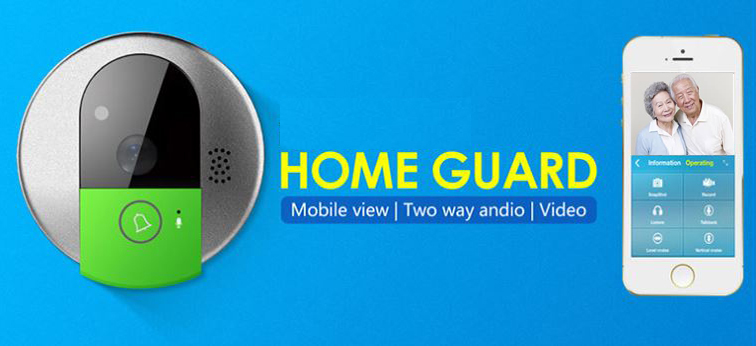 OMGCB03 - Home Video Intercom Emergency Wireless Call Bell Alarm (Wifi)