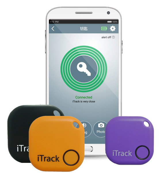 iTrack - Wallet Fitted Pets Elderly Kids Bluetooth Anti Lost Tracker Alarm Alert - App